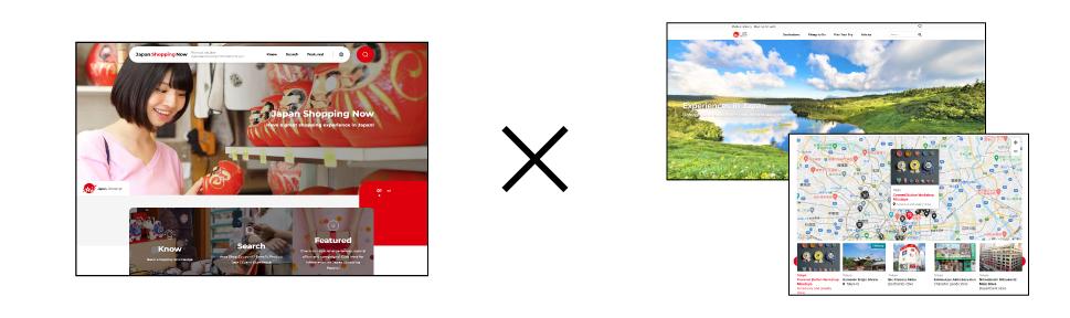 「JNTO(日本政府観光局)観光情報ウェブサイト」と連携